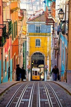 Last August Amy and I took a trip to Portugal and really loved it. Lisbon seemed like a photographers dream with all the colors, life and history of the city. I think a piece of wall art of a scene in Portugal could be really neat. Visit Portugal, Portugal Travel, Spain And Portugal, Faro Portugal, Sintra Portugal, Places To Travel, Places To See, Travel Destinations, Travel Around The World