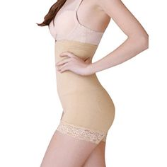 77c599a29 Shaperdiva Womens High Waist Butt Lifter Shapewear Tummy Control Panties  Waist Cincher XLXXL Waist 31to 39