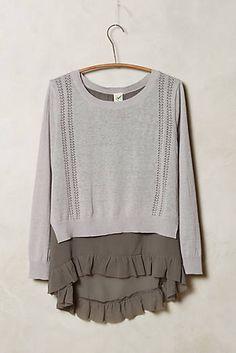 Skirted Pullover