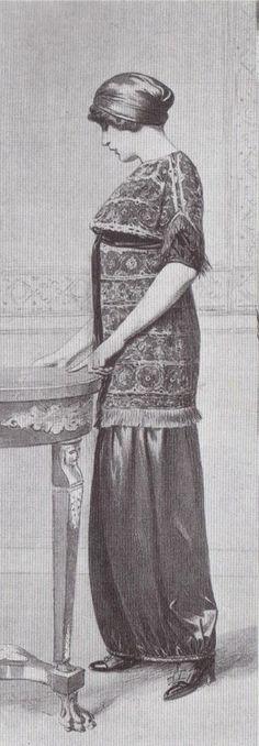 1910 - Paul Poiret dress