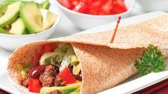 Burritos au bison | #Recettes IGA | Sandwich, Salsa, Recette rapide