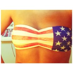 American flag swimsuit :)