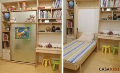 casa kids, CASAKids, eco loft bed, Green Furniture, green kids, Murphy beds, sustainable bed, space saving bed, fold away bed, casa kids tuc...