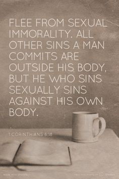 Sexually immoral verses