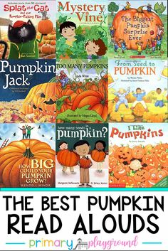 The Best Pumpkin Read Alouds- We share all of our favorites and some fun activities to go along with the books!