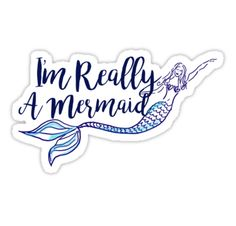 Mermaid stickers featuring millions of original designs created by independent artists. Sticker Design, Artsy Fartsy, Finding Yourself, Character Design, Patches, Mermaid, Doodles, Positivity, Bottle Caps