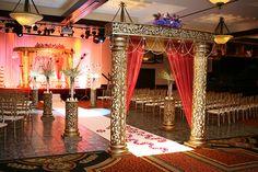 indian aisle decor - Google Search