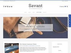 Savant is a redesigned look for the multipurpose WooCommerce theme, Avant. Easily built a professional website or eCommerce store by adding our recommended top plugins from WooCommerce to Page Builders and lots more. Savant is beautiful, clean and comes packed with lots of layout settings, full theme color settings and lots more... Have fun designing your website without any coding knowledge... Savant is the theme you want! Hope you like it!
