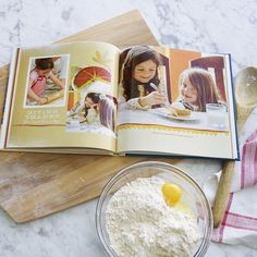 Create a cookbook photo book of your favorite recipes. Include photos and memories of the treasured treats. | Shutterfly