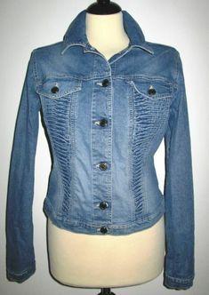 * * * GABRIELE STREHLE Jeansjacke, Gr.40 * * * Jeans, Mantel, Denim, Ebay, Fashion, Clothing Accessories, Jackets, Moda, Fashion Styles