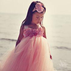 Tutu Dress..Birthday Tutu Dress.. Flower girl by TrendyBambini