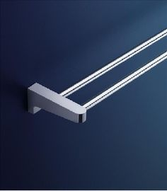 dorf arc wall double towel rail 600mm bathroom accessories