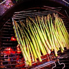 F-stop's grilled asparagus | urban vegan