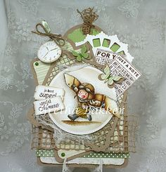 masculine special moments card by Gretha Bakker