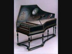 Rameau suite en G 1728 L'enharmonique L'egyptienne Christie clavecin