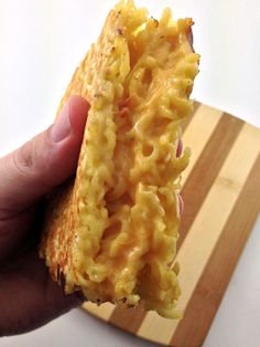 The Ramen Noodle Grilled Cheese Sandwich   DudeFoods.com Food Blog & Reviews