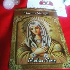 Mother Mary comes to us today as a reminder to give ourselves the same love nurturing and support we give to others. it's important to make sure that your needs.are met so that you have something to.give others. If you are feeling run down and exhausted step back and make today about self-care.  Card from Doreen Virtue's Ascended Mastrs Oracle  #dailycardreading #mothermary #ascendedmasters #Dailyreading #Twitter