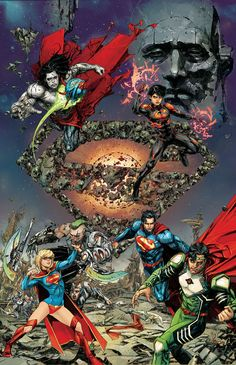 SUPERMAN: KRYPTON RETURNS TP - Written by Scott Lobdell, Justin Jordan, Michael Alan Nelson, Tom Defalco, Michael Green and Mike Johnson, art by R.B. Silva, Ed Benes, Paulo Siqueira, Kenneth Rocafort, Dan Jurgens and others, cover by Kenneth Rocafort