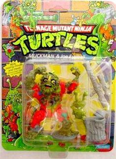 Top 10 Teenage Mutant Ninja Turtles action figures. Muckman TMNT