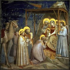 Giotto - visitation of the three magi