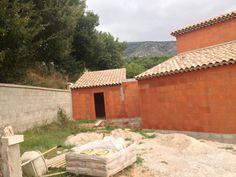 Belle réalisation en briques à Puyloubier