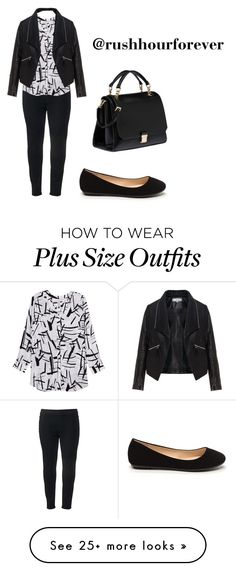 """""""not because u r a plus size doent mean u cant look sexy and hot"""" by rushhourforever on Polyvore featuring SONOMA Goods for Life, Melissa McCarthy Seven7, Zizzi, Miu Miu and plus size clothing"""