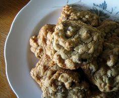 chocolate chip maple walnut cookies from Everybody Likes Sandwiches... also good with almonds and almond extract instead of walnuts