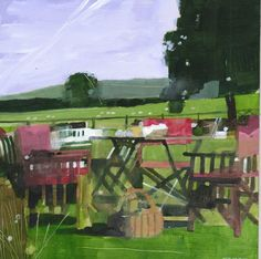 Glyndebourne 2011 - Acrylic on board SOLD