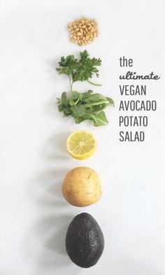 The Ultimate Vegan Avocado Potato Salad    Jade and Fern