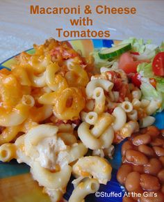 Stuffed At the Gill's: Macaroni & Cheese with Tomatoes