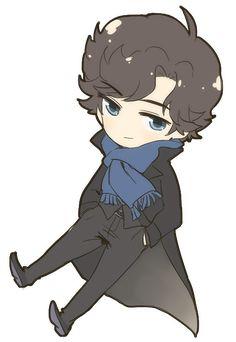 SH: Sherlock Chibi by bone-kun