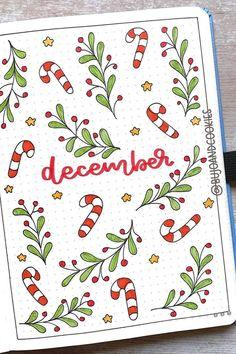Bullet Journal Month Cover, Bullet Journal Title Page, Bullet Journal Paper, Bullet Journal Lists, December Bullet Journal, Creating A Bullet Journal, Bullet Journal Lettering Ideas, Bullet Journal Notebook, Bullet Journal Aesthetic