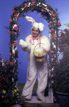 Ozzy Osbourne as an Easter Bunny | Rare and beautiful celebrity photos