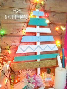 Купить Деревянная елка для декора 135см - елка, елка ручной работы, елка новогодняя