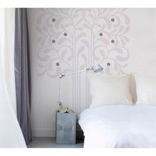 Floral Flocked Transfer Wall Decals http://www.muralsforkids.com/products/Floral-Flocked-Transfer-Wall-Decals.html