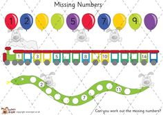 The 43 best ordering numbers eyfs images on pinterest preschool teachers pet missing numbers activity premium printable game activity eyfs ks1 ibookread
