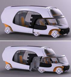 modulo oficina movil con motocicleta - Buscar con Google