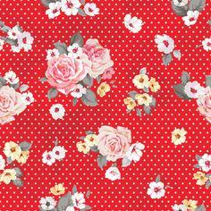 floral & dots