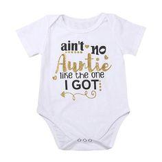 4413976f4076 Auntie Bodysuit - The Trendy Toddlers Twin Baby Boys, Baby Girls, Baby  Onesie,