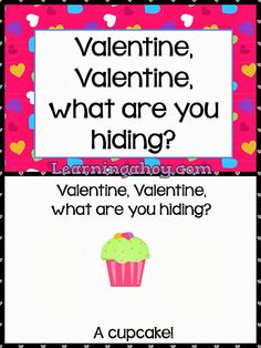 Learning Ahoy!!: Valentine, Valentine Freebie! (special education, interactive book, kindergarten, preschool)