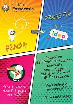Fossacesia Pensa progetta e pizza: il 9 giugno per promuovere nuove idee