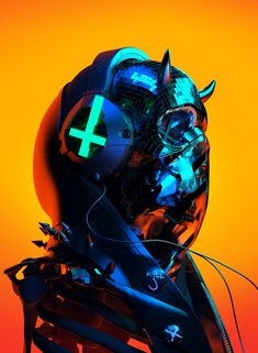 Auʇıɔɥɹısʇ on Behance Arte Cyberpunk, Cyberpunk Aesthetic, Cyberpunk 2077, Character Art, Character Design, Geisha Art, Cyberpunk Character, Modelos 3d, Futuristic Art