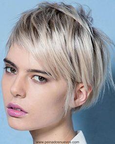Los Últimos 25 Encantadora Corto Peinados y Colores que Usted puede  Intentar para el 2018 Pelo 99e42f53b864