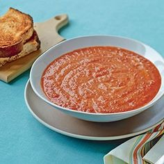 Panera's Smoky Roasted Red Bell Pepper Soup