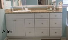 White Shaker Bathroom Vanities - RTA Kitchen Cabinets & Bathroom Vanity