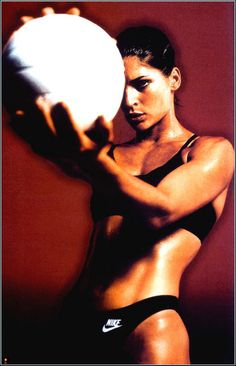 We had this poster in our gym locker room in high school!  Still motivates me!  Gabby Reece