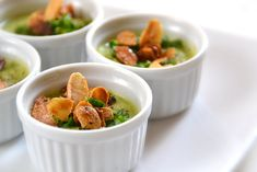Mousse, Entrees, Soup, Vegetables, Kitchen, Almonds, Cooker Recipes, Roasted Almonds, Zucchini