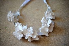 Hey, I found this really awesome Etsy listing at https://www.etsy.com/listing/223281385/flower-crown-felt-necklace-white-felted