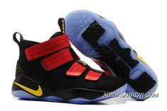 17370408679 Nike LeBron Soldier 11 Black Red Yellow PE Online