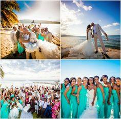 Montego Bay, Jamaica Wedding from Dwayne Watkins Photography - Bajan Wed : Bajan Wed